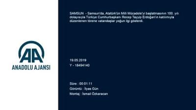 Türk Yıldızları ile SOLOTÜRK'ün gösteri uçuşu ilgiyle izlendi - SAMSUN