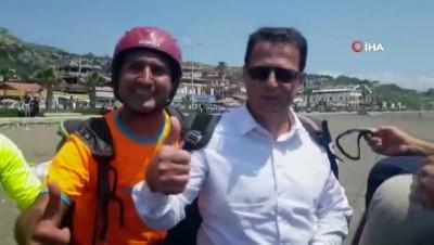 yerel yonetim - Türkiye Yamaç Paraşütü Hedef Şampiyonası tamamlandı