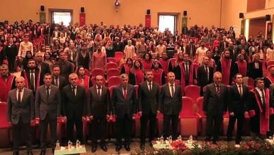 AÇÜ'de mezuniyet töreni - ARTVİN