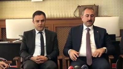 Adalet Bakanı Gül, Aksaray Adalet Sarayını ziyaret etti