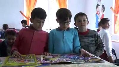 ozel okullar -  İstanbul'da başlattıkları kampanya ile Mazı köyünde kütüphane oluşturdular