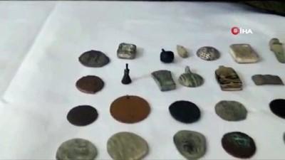 tarihi eser kacakciligi -  Malatya'da Frig, Roma, Bizans dönemlerine ait 5 milyon TL değerinde tarihi eser ele geçirildi
