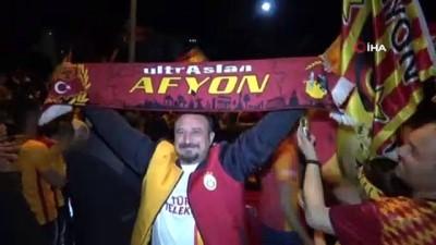 alabalik -  Afyonkarahisar'da Galatasaray'ın şampiyonluğu coşkuyla kutlandı