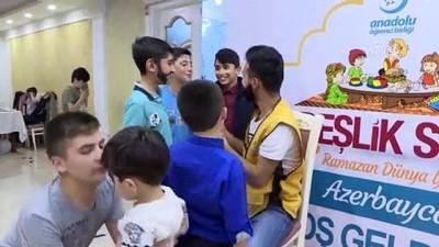 iftar sofrasi - Azerbaycan'da 'Kardeşlik Sofrası' kuruldu - BAKÜ