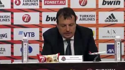 gorece - Basketbolda maçın ardından - Ergin Ataman (2) - VİTORİA-GASTEİZ