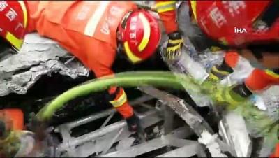 hastane -  - Çin'de Bar Çatısı Çöktü: 3 Ölü, 100 Yaralı