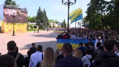 Cumhurbaşkanı Yardımcısı Oktay, Zelenskiy'in göreve başlama törenine katıldı - KİEV
