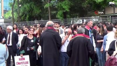 basin aciklamasi -  Doktorlar ve avukatlardan kadın cinayeti için ortak açıklama