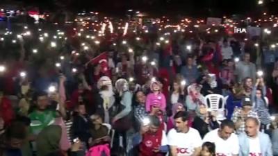 sehit -  Elazığ'da 'Fener Alayı ve Gençlik Yürüyüşü'