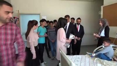 Erciş'te öğrencilere ilk yardım eğitimi - VAN