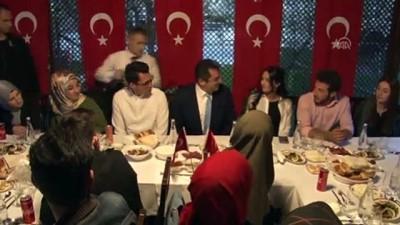Erzurum Valisi Memiş 19 öğrenciyi iftarda misafiri etti - ERZURUM