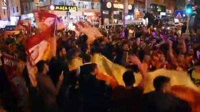 sehit - Galatasaray'ın şampiyonluk kutlamaları - KARS