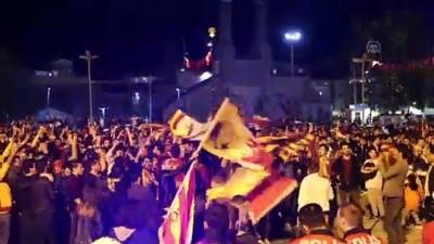 polis ekipleri - Galatasaray'ın şampiyonluk kutlamaları - SİVAS
