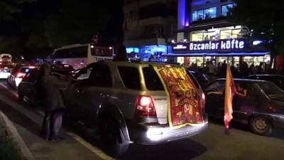 Galatasaray'ın şampiyonluk kutlamaları - TEKİRDAĞ