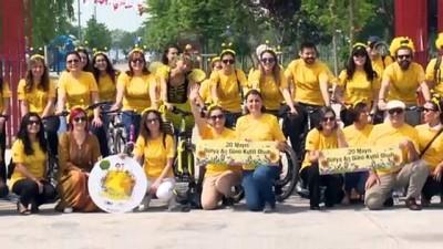 bisiklet - Gönüllü bisikletçiler arıların izinde pedal çevirdi - İSTANBUL