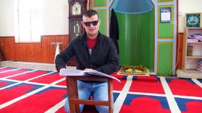 gorme engelli - HUZUR VE BEREKET AYI RAMAZAN - Görme engeli Kur'an-ı Kerim aşkından alıkoymadı - GLOGOVAÇ