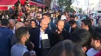 iftar sofrasi - İçişleri Bakanı Soylu, iftarda gençlerle buluştu - İSTANBUL