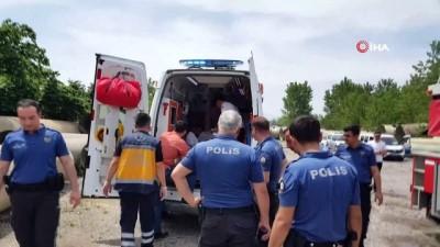 polis ekipleri -  İntihar girişimini polis ekipleri engelledi