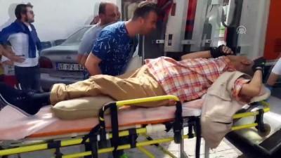 Kafeye av tüfeğiyle ateş açıldı: 2 yaralı - KONYA