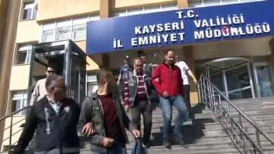 Kayseri merkezli 11 ilde düzenlenen FETÖ operasyonunda gözaltına alınan 22 kişi adliyede