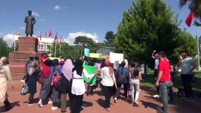 Öğrenciler cinsel istismara karşı yürüdü - ŞANLIURFA