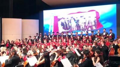 kisla - Piyanist İdil Biret ile Hacettepe Üniversitesi'nden '19 Mayıs' konseri - ANKARA