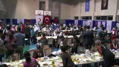 sehit - Türk Kızılay'ından şehit ve yetim ailelerine iftar - ŞIRNAK