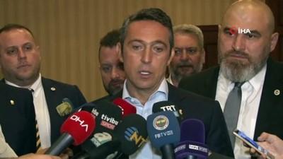 """basin mensuplari - Ali Koç: """"Fenerbahçe olarak sesimizi yükselteceğiz"""""""
