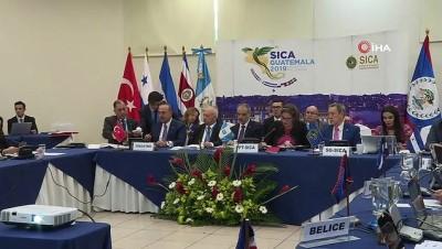 - Bakan Çavuşoğlu, SICA Dışişleri Bakanları III. Siyasi Forumu'na Katıldı