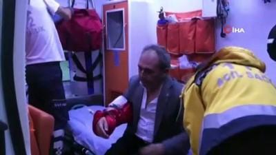 kisla -  CHP'li belediye başkan yardımcısına saldırı anı kamerada