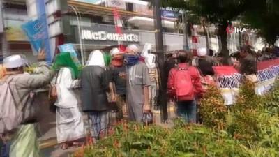 protesto -  - Endonezya'da Yüzlerce Kişi Protesto İçin Sokakta - Widodo Yeniden Seçildi, Muhalefet Sokağa Döküldü