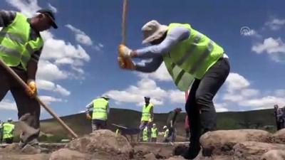 Geleceğin arkeologları kazı çalışmalarına katıldı - BİNGÖL