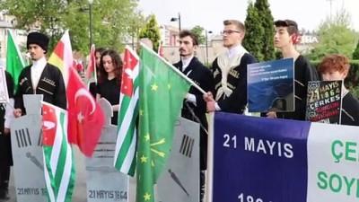 protesto -  Sivas'ta 'Çerkez Sürgünü' protesto edildi