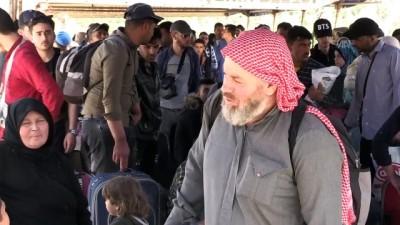 Suriyeliler bayram için ülkelerine gidiyor - HATAY