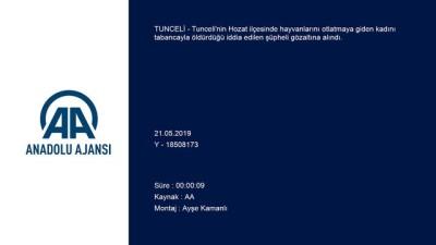 guvenlik gucleri - Tunceli'deki kadın cinayeti