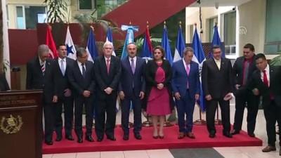 baskent - Türkiye-Orta Amerika Entegrasyon Sistemi Dışişleri Bakanları 3. Siyasi Forumu - GUATEMALA