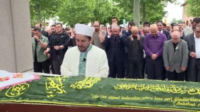 cenaze - Zahide Sevim Güzel Gölbaşı mezarlığına defnedildi - ANKARA