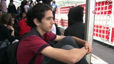 kabiliyet -  200 öğrenci Sahil Güvenlik ekipleriyle Boğaz turu eşliğinde eğitim aldı