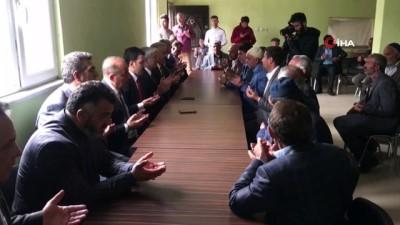 AK Parti milletvekilleri Arslan ve Kılıç, Nurcan'ın ailesine taziye ziyaretinde bulundu