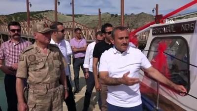 guvenlik gucleri -  Bir dönem devletin üst kademesini ağırlayan 'Goncagül' artık Tunceli'de