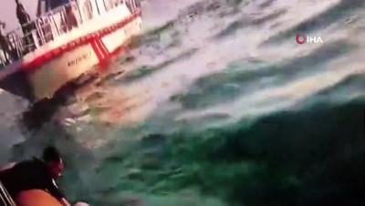 cenaze -  Boğaz'da köprüde aracını ateşe vererek atlayan şahıs toprağa verildi