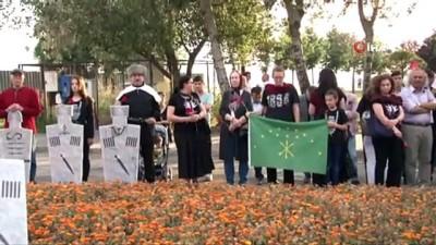 basin aciklamasi -  Çerkes Sürgününde hayatını kaybedenler Kartal'da anıldı