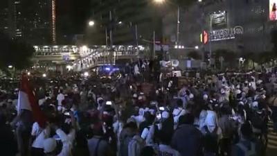 guvenlik gucleri - Endonezya'da seçim sonucu karşıtı gösteriler devam ediyor - CAKARTA