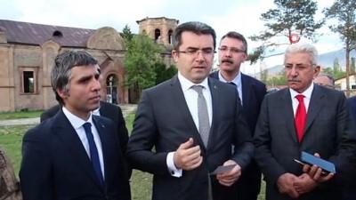 """Erzurum Valisi Okay Memiş, """"Oltu çevresinde 500 bin turist hedefimiz var"""""""