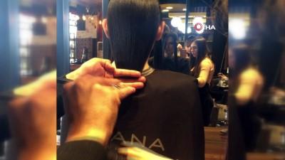 dogus -  Hastane çalışanları tedavi gören kanser hastaları için saçlarını bağışladılar