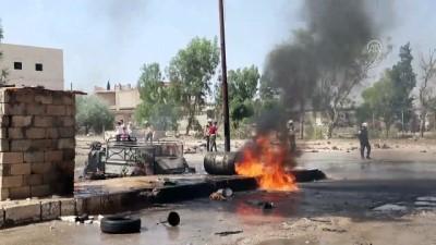 ic savas - İdlib Gerginliği Azaltma Bölgesi'ne hava saldırısı: 6 ölü