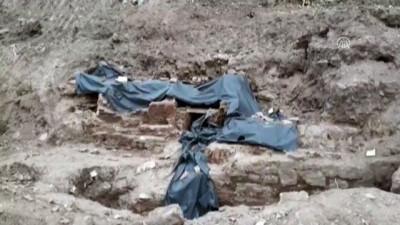 İnşaat kazısında tarihi yapıya ait kalıntılar bulundu - KOCAELİ