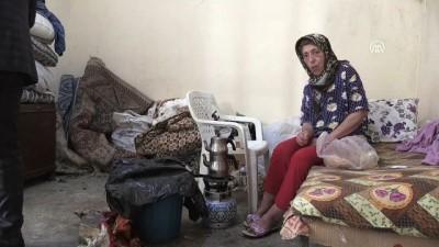 Kanser hastası felçli kadının tek odada yaşam mücadelesi - ADANA