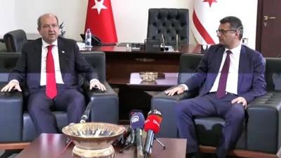 KKTC'de Ersin Tatar başbakanlık görevini devraldı - LEFKOŞA
