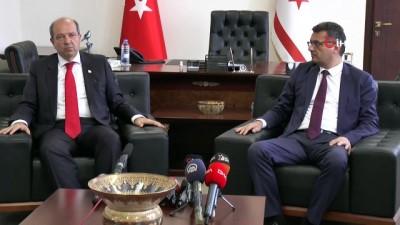 hukumet -  - KKTC'nin Yeni Başbakanı Ersin Tatar Göreve Başladı